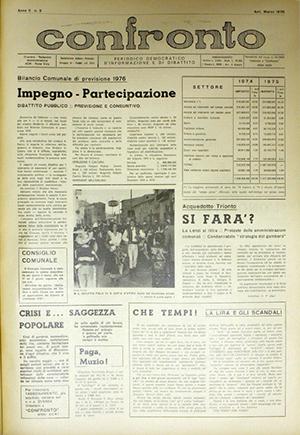 Confronto n°3 del 1976