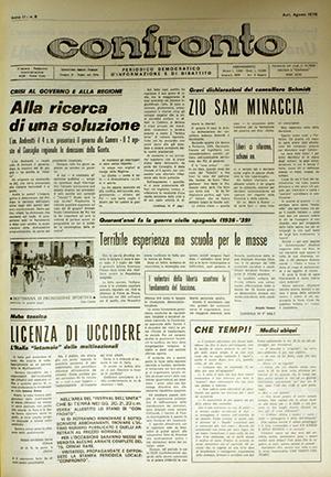 Confronto n°8 del 1976