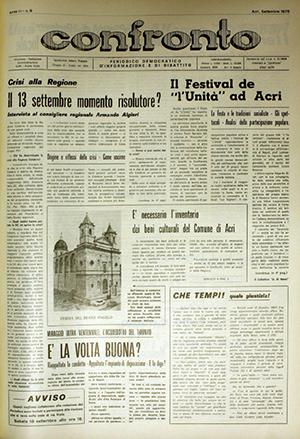Confronto n°9 del 1976