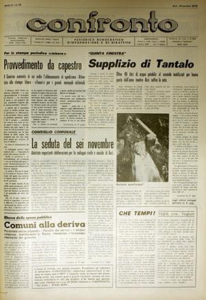 Confronto n°12 del 1976