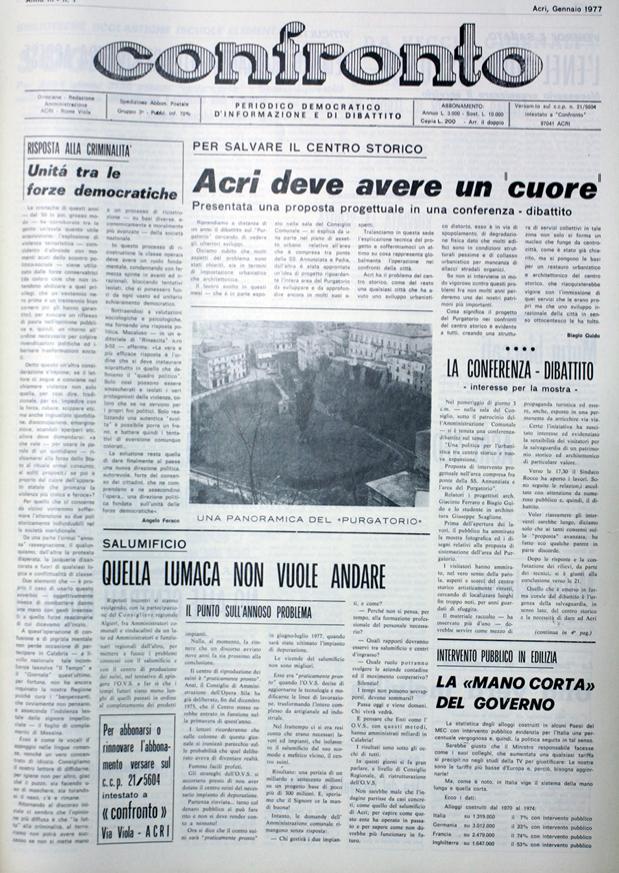 Confronto n°1 del 1977