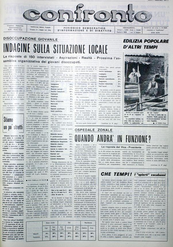 Confronto n°2 del 1977