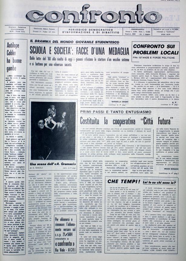 Confronto n°3 del 1977