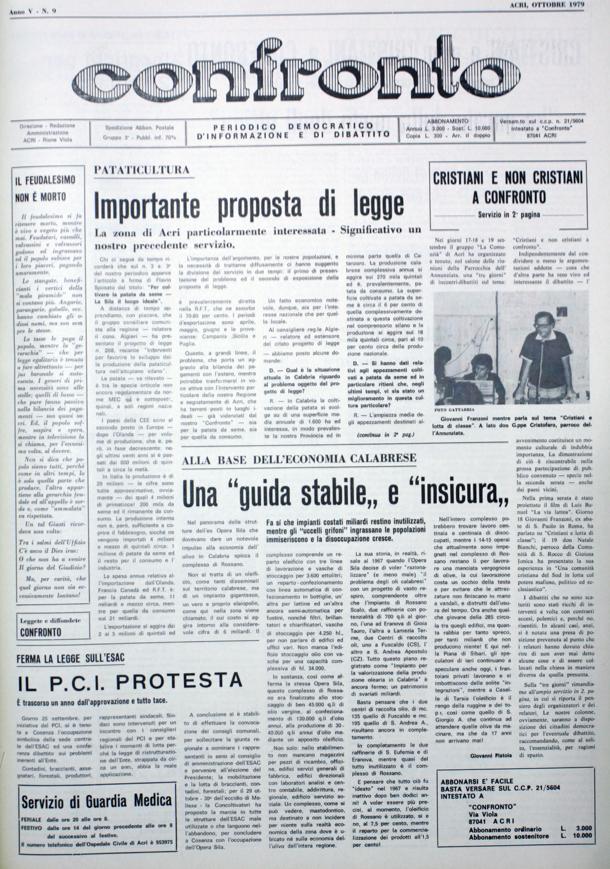 Confronto n°9 del 1979