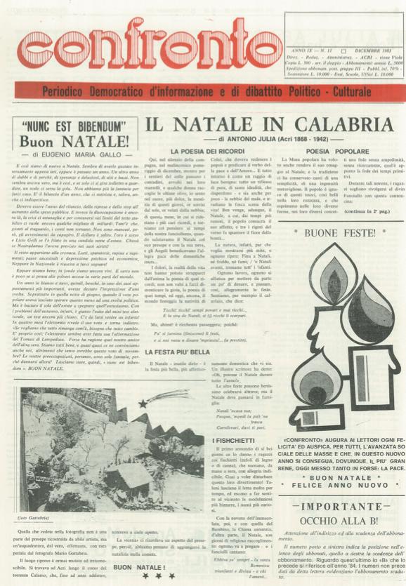 Confronto n°11 del 1983