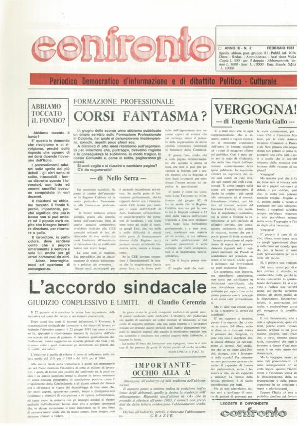 Confronto n°2 del 1983
