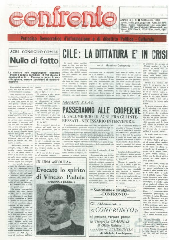 Confronto n°8 del 1983