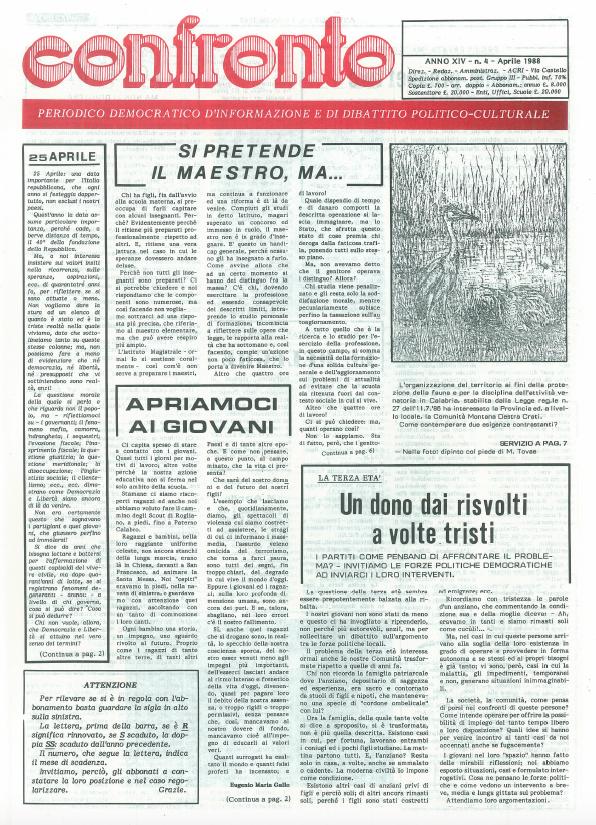 Confronto n°4 del 1988