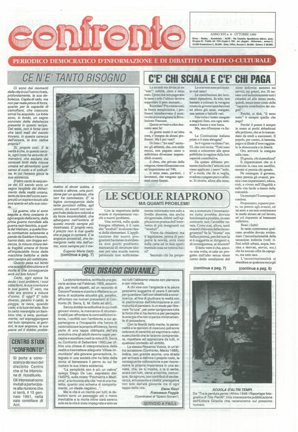 Confronto n°8 del 1990
