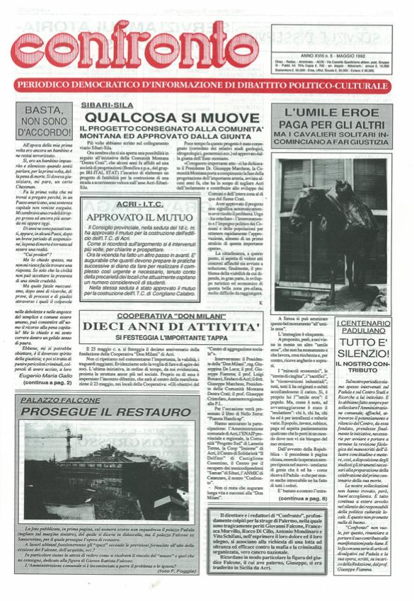Confronto n°5 del 1992