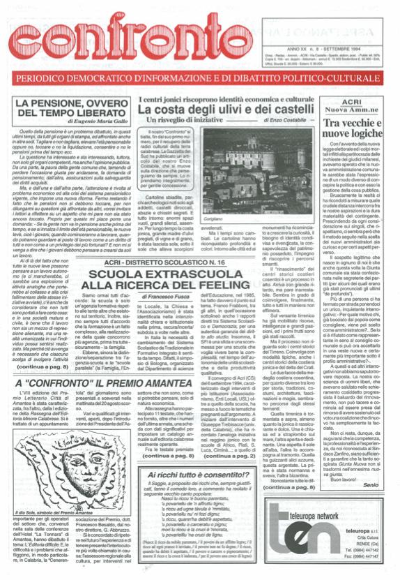 Confronto n°8 del 1994